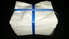 1000 SMALL WHITE PAPER LOLLY BAGS W/STRING 16 x 11cm - CATERING/ VENDING/ SHOPS