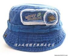 Boys Baby Kids Toddlers Floppy Hat Cap Cowboy Pima cotton hat kid Sunhat sun hat