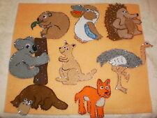 FELT BOARD STORY RHYME TEACHER RESOURCE - AUSTRALIAN ANIMALS