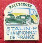 RARE PIN'S RENAULT SUPER 5 GT TURBO RALLYE CROSS STALIN P .CHAMPIONNAT DE FRANCE