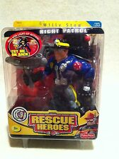 Rescue Heroes Night Patrol Willy Stop Factory Sealed! Light-Up Action!