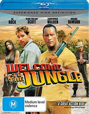 Welcome To The Jungle - Action / Thriller / Comedy - The Rock - NEW Blu-Ray