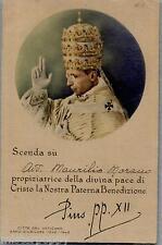 PAPA PIO XII Roma Vaticano PC 1903 Benedetta da Pio XII Viaggiata 1942