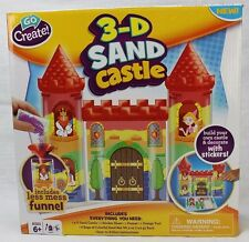 Build Your Own Sand Castle Children's Sand Art Kit with Stickers New and Sealed