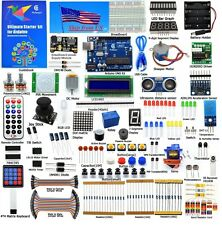 Adeept New Ultimate Starter learning Kit for Arduino UNO R3 with Paper Guidebook