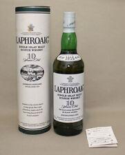 Single Malt Scotch Whisky LAPHROAIG, 10 Jahre. Alte Ausführung.