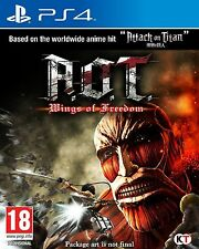 (a.o.t.) Attack on Titan: Wings of freedom Jeu PS4 Scellé & Neuf