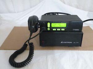 Motorola M1225 Radio M44DGC90J2AA, UHF 450-470MHz, 40W, Mic & Astron SL-11R P.S.