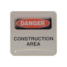 Case Sticker Danger Construction Area