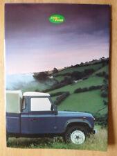 LAND ROVER NINETY & ONE TEN orig 1986 UK Mkt Sales Brochure - 90 110 #LR410