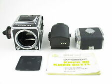 Arsenal Kiev 88 6x6 Spiegelreflexkamera SLR + TTL-Prisma metered prism + 2 Mags