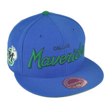 a83bb2db63b Mitchell   Ness Dallas Mavericks Hardwood Classics Special Script Fitted Hat  - Royal Blue