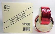Bvlgari Omnia Coral By Bvlgari 2.2 Oz EDT Spray New Tester Perfume For Women