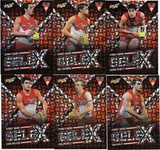 2018 Select Footy Stars SYDNEY SWANS SeleX Team Set (6 Cards)