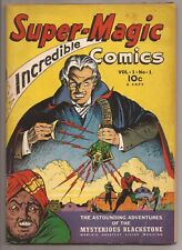 SUPER-MAGIC Comics Volume 1 Number 1 May 1941 Blackstone