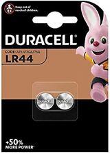 Duracell LR44 1,5V Batteria a Bottone Alcalina 2 Pezzi