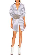Chloe Marcie Leather Convertible Belt Crossbody Bum Bag Clutch Cashmere Grey NWT