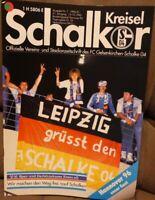 FC Schalke 04 Schalker Kreisel Magazin 14.10.1990 2.Bundesliga Hannover 96 /604