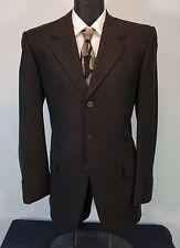 fc36d9a60a9 Exquisite Brown YVES SAINT LAURENT Wool Recent Runway Suit Jacket Pants 40