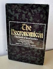 Necronomicon Signed 1st Edition George Hay Qliphoth Grimoire Dee Cthulhu RARE!