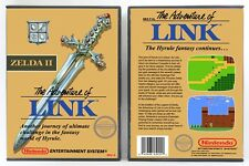 Zelda II: The Adventure of Link - Nintendo NES Custom Case - *NO GAME*