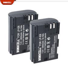 2x Brand New LP-E6 Replacement Battery For Canon 5D 6D 7D 60D 60Da Mark II III
