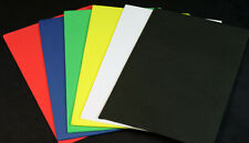 "2mm 8.5"" x 5.5"" Sheet Foam 6 sheets, for high floating terrestrials and more"