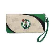 Boston Celtics NBA Women's Curve Zip Organizer Wallet / Purse