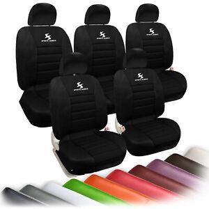 Auto Sitzbezug sitzbezüge Schonbezug universal Größe Sitzauflage QCZT#10