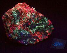 Fluorescent Calcite Willemite and Fluorite SW & LW UV Large Specimen