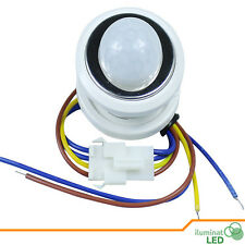 PIR Detector Infrared Motion Sensor Switch with Time Delay Adjustable - White