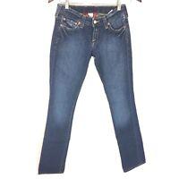 Lucky Brand Lola Straight Leg Medium Wash Jeans Women's Sz 0 / 25 Regular Inseam