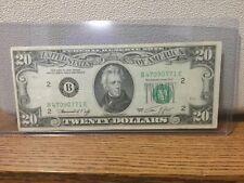 1974 New York twenty dollar ...Bank of New York w/ free shipping