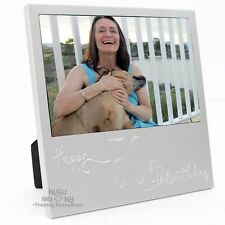 New Engraved Silver 50th Birthday Photo Frame Gift Celebration Memory Picture