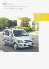 #baa0600 nuovo edizione 06//2000 Manuale di istruzioni OPEL AGILA A