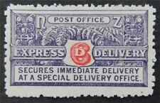 nystamps British New Zealand Stamp # E1a Mint OG H $70   L23x3150