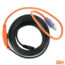 30FT Water Pipe Heating Cable Electric Heater Anti Freeze Frost Protection 210W