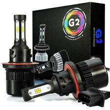 2x 8000LM H13 9008 CSP LED Headlight Kit Hi/low Beam 6500K Xenon White Bulbs 72W