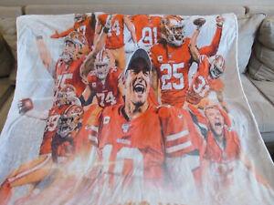 San Francisco 49ers 2019 NFC Championship Blanket New