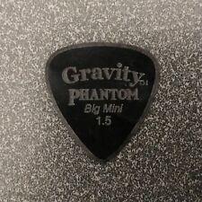GRAVITY PICKS Limited Ed Phantom Big Mini Boutique Guitar Pick Black 1.5mm