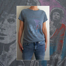 Junk Food David Bowie Vintage Wash Black Sea Destroyed Finish Cotton T-shirt New