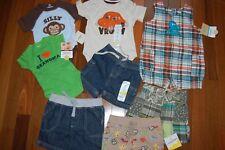 NWT Infant Baby Boys 8 Piece Summer Lot NB ~ 0-3M ~ 3M ~ 3-6M ~ 6-9M