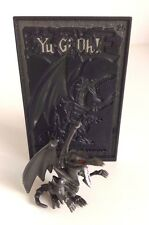 Yu-gi-oh yu-gi-oh! mattel 2 inch figure avec holo-tuile-rouge yeux dragon noir