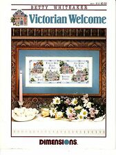 Victorian Welcome by Betty Whiteaker (1992, Cross Stitch Booklet)