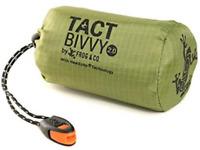 Tact Bivvy 2.0 HeatEcho Emergency Sleeping Bag, Compact Ultra Lightweight, Bivy