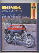 Honda CB400 CB550 Fours (1973-1977) Haynes Manual CB 400 550 K F Dresda CE91