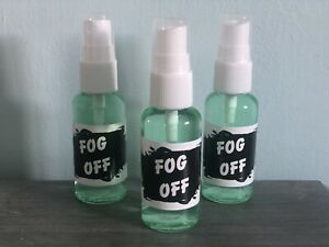 Fog Off Anti Mist Spray For Glasses, Goggles Or Visors. Face Mask De Mister 30ml