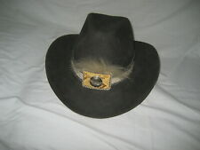 "ORIGINAL CHARLIE 1 HORSE HAT- GRAY 7 3/8""-  NEVER WORN with ORIGINAL TAG"
