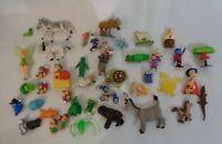 Lot Bundle Toy  Mix Mcdonalds Disney Kinder toys approximately 40x