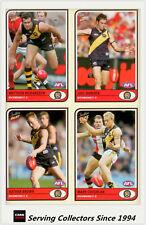 2005 Select AFL Tradition Card Series Base Card Team Set Richmond (10)